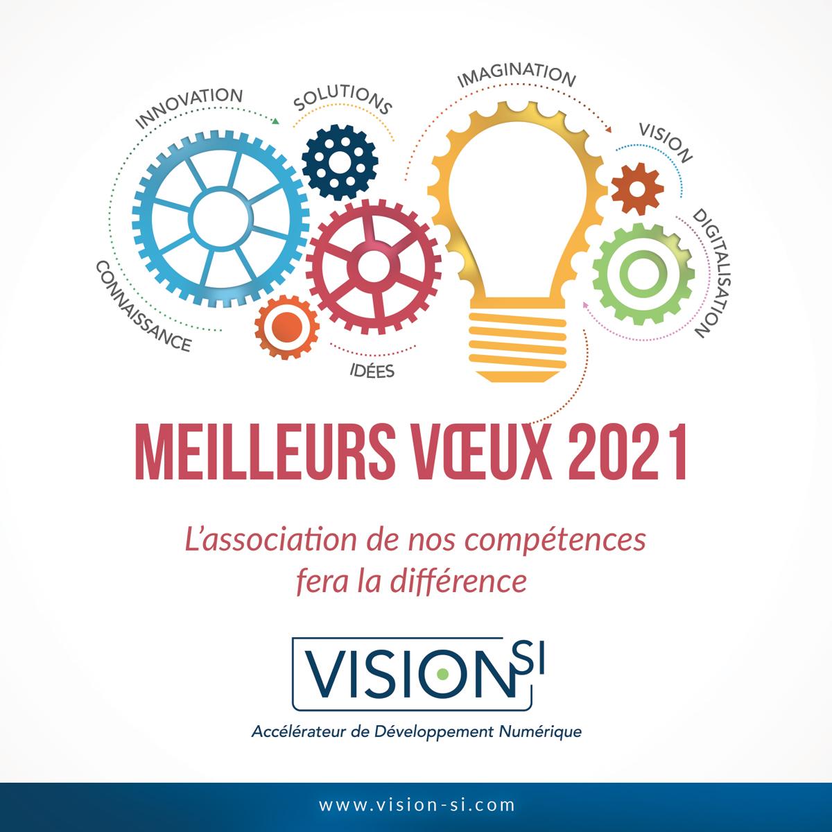 Vœux 2021 VisionSI